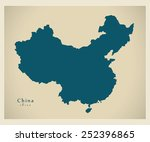 Modern Map   China Cn