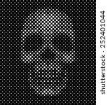 Polka Dots Skull