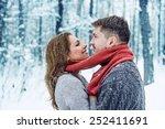 portrait of happy young woman... | Shutterstock . vector #252411691