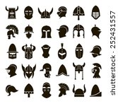 30 vector icons of black... | Shutterstock .eps vector #252431557