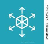 content distribution concept  ... | Shutterstock .eps vector #252437617