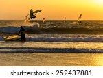 Summer Sports  Windsurfer...