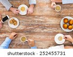 business  people and team work... | Shutterstock . vector #252455731