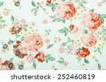 vintage style of tapestry... | Shutterstock . vector #252460819