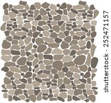 background stone wall  vector... | Shutterstock .eps vector #252471157