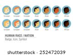 people  team badge   icon ... | Shutterstock .eps vector #252472039