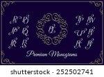 Vintage Monogram Design...