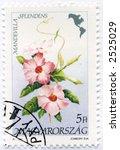 vintage world postage stamp ephemera africa - stock photo