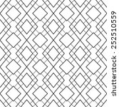 the geometric pattern. seamless ... | Shutterstock .eps vector #252510559