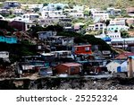 Small photo of shanty town