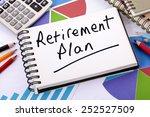 Постер, плакат: Retirement plan pension fund