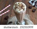 Chocolate Milkshake  Selective...
