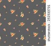 watercolor seamless pattern...   Shutterstock .eps vector #252533731