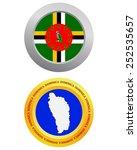 button as a symbol dominica... | Shutterstock .eps vector #252535657
