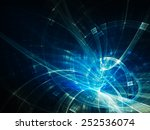 abstract blue background | Shutterstock . vector #252536074