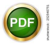 pdf web icon   Shutterstock .eps vector #252540751