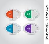 creative design template  ... | Shutterstock .eps vector #252559621