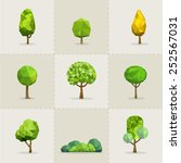 Set Of Geometric Vector Trees ...