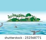 island | Shutterstock .eps vector #252568771