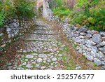 Byzantine Road Paved With Stone ...