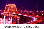 Banghwa Bridge At Night Korea