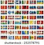european flags | Shutterstock . vector #252578791