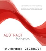 abstract background with red... | Shutterstock .eps vector #252586717