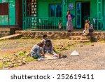 omo  ethiopia   september 19 ... | Shutterstock . vector #252619411