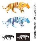 tiger vector illustration... | Shutterstock .eps vector #252621814