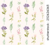 floral background   seamless... | Shutterstock .eps vector #252626365