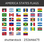 flag of america states vector... | Shutterstock .eps vector #252646675