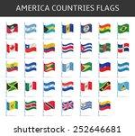 america flag vector | Shutterstock .eps vector #252646681