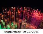 defocused abstract fiber optics ... | Shutterstock . vector #252677041