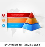 vector infographics element... | Shutterstock .eps vector #252681655