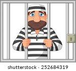prisoner behind bar