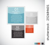infographic templates for... | Shutterstock .eps vector #252684601