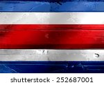 National Flag Of Costa Rica...