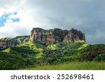 Sandstone Rock  Drakensberg...