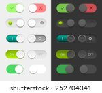 vector user interface set... | Shutterstock .eps vector #252704341