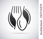 Food service vector logo design template | Shutterstock vector #252714379