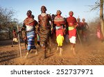 archers post   kenya   january... | Shutterstock . vector #252737971