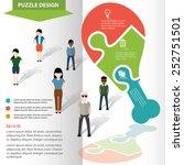 calf chicken puzzle info... | Shutterstock .eps vector #252751501