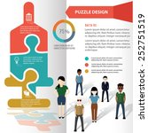 saline puzzle info graphic... | Shutterstock .eps vector #252751519
