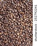 coffee beans background | Shutterstock . vector #252792241