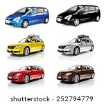 car automobile contemporary... | Shutterstock . vector #252794779