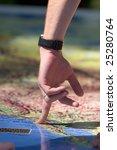 detail of human hand  ... | Shutterstock . vector #25280764