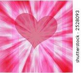 flowing heart   high resolution ... | Shutterstock . vector #2528093