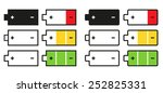 set of 12 isolated battery...