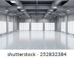 modern storehouse 3d interior... | Shutterstock . vector #252832384