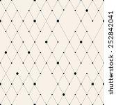 vector seamless pattern. modern ...   Shutterstock .eps vector #252842041